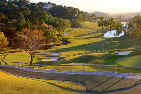 Overview of golf course named La Zagaleta Country Club