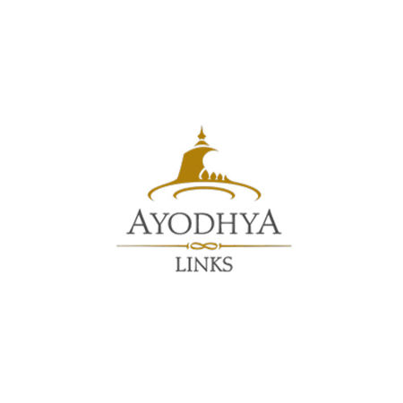 Logo of golf course named Ayodhya Links