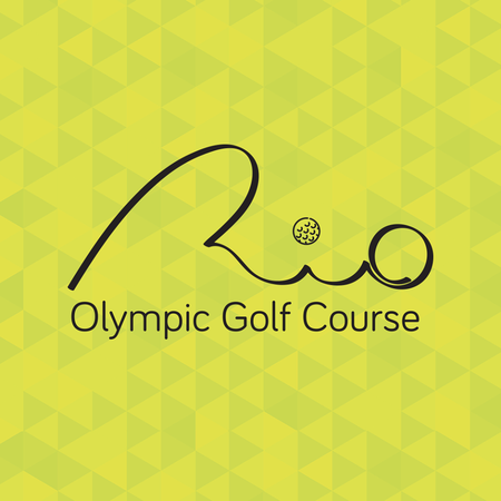 Logo of golf course named Campo Olímpico de Golfe