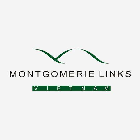 Logo of golf course named Montgomerie Links Vietnam