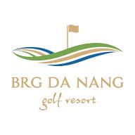 Logo of golf course named BRG Danang Golf Resort