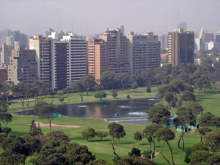 Overview of golf course named Lima Golf Club