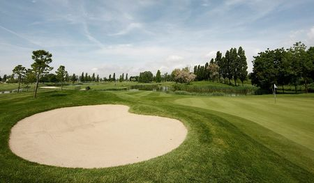 Overview of golf course named Golf Club Lignano