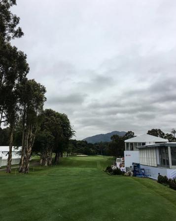 Hong kong golf club fanling daniel im checkin picture