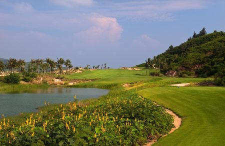 Overview of golf course named Dunes at Shenzhou Peninsula