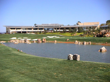 Overview of golf course named Kunming Sunshine Golf Club