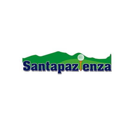 Logo of golf course named Santapazienza Golf Club