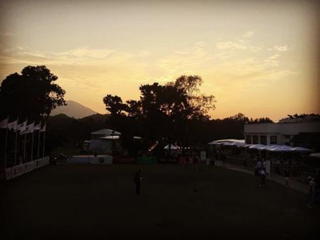 Hong kong golf club fanling alejandro canizares checkin picture