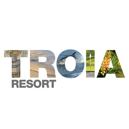 Logo of golf course named Troia Resort