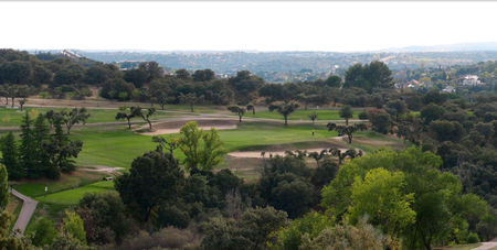 Overview of golf course named Nuevo Club de Golf de Madrid