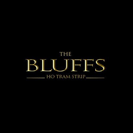 Logo of golf course named Bluffs Ho Tram Strip