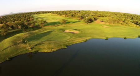 Overview of golf course named Kilimanjaro Golf and Wildlife Estate