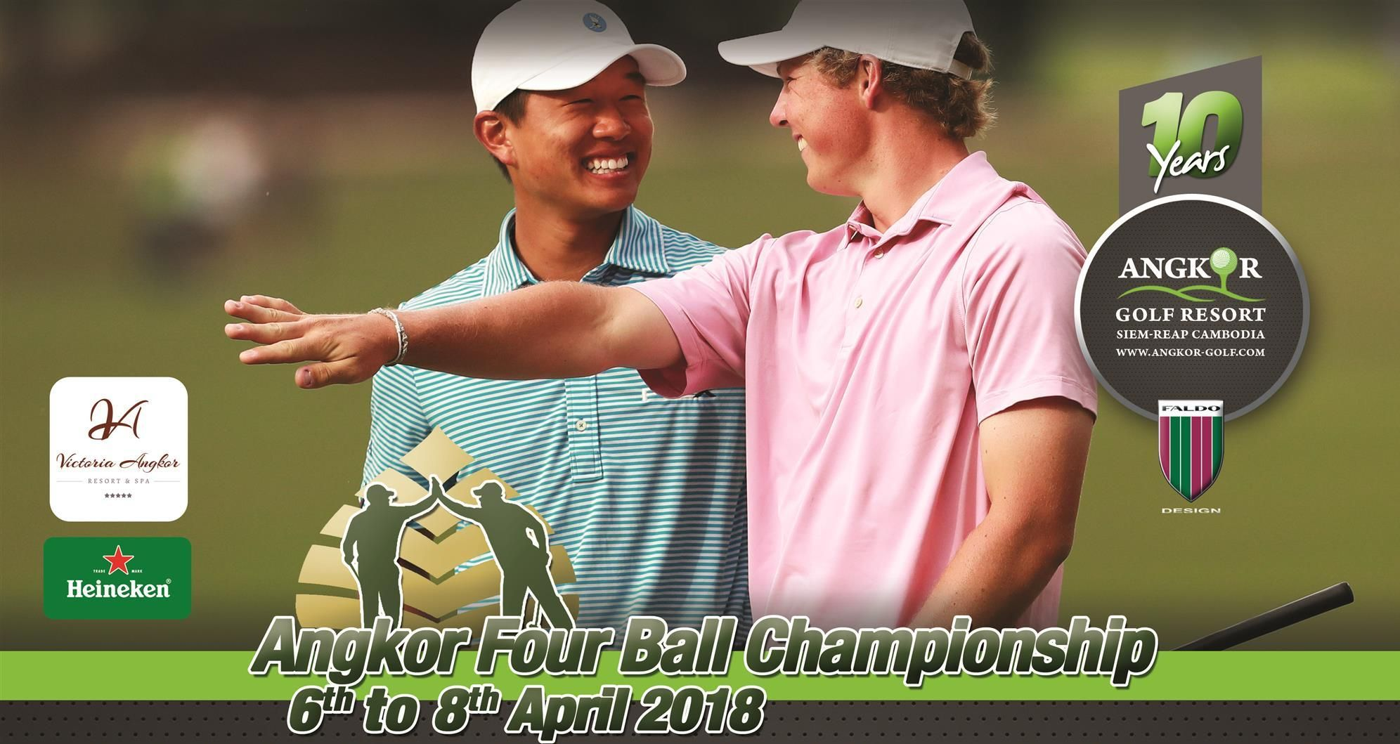 Cover of golf event named Angkor Four Ball Championship 2018