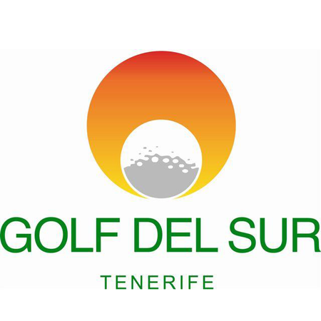 Logo of golf course named Golf Del Sur