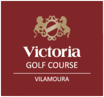Logo of golf course named Dom Pedro Victoria Golf Course