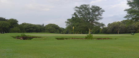 Overview of golf course named Gaborone Golf Club