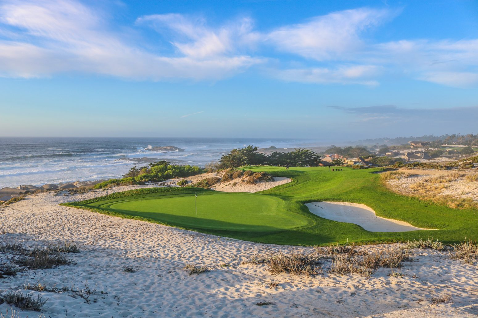 Overview of golf course named Spyglass Hill Golf Course