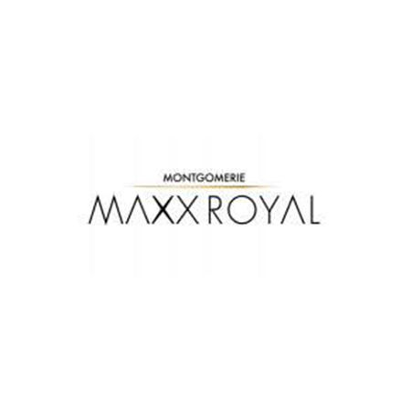 Logo of golf course named Montgomerie Maxx Royal Golf Club