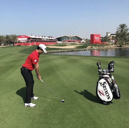 Abu dhabi golf club ricardo melo gouveia checkin picture