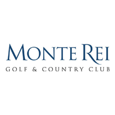 Logo of golf course named Monte Rei Golf and Country Club
