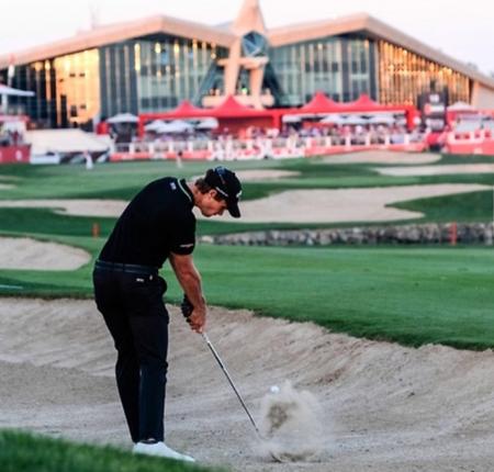 Abu dhabi golf club thomas detry checkin picture