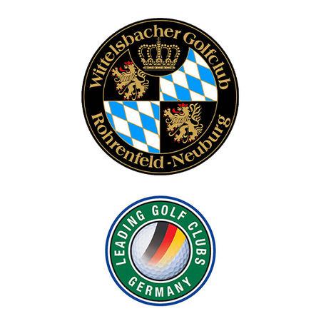 Logo of golf course named Wittelsbacher Golfclub Rohrenfeld-Neuburg e.V.