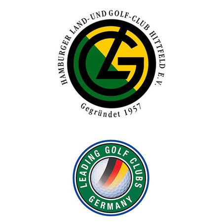 Logo of golf course named Hamburger Land- Und Golf Club Hittfeld
