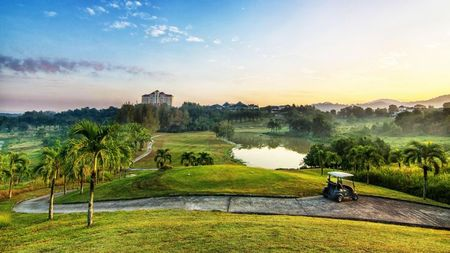 Overview of golf course named Kulim Golf and Country Resort
