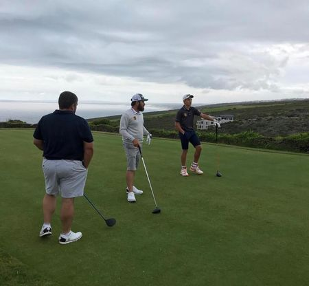 Pinnacle point beach and golf resort louis oosthuizen checkin picture