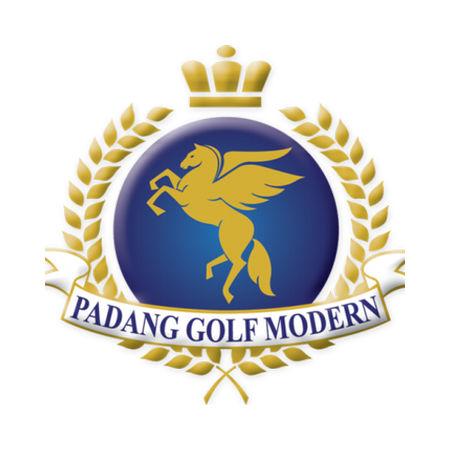Logo of golf course named Padang Golf Modernland