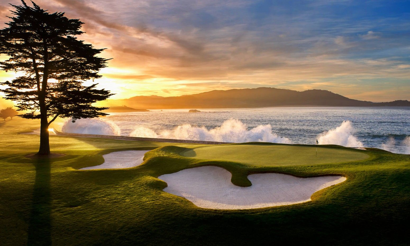 Cover of golf event named All Square Travel Collection - Pebble Beach