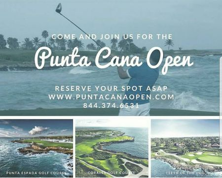 Hosting golf course for the event: Punta Cana Open