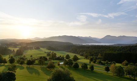 Overview of golf course named Der Margarethenhof Golf and Hotel Am Tegernsee