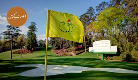2018 Masters Augusta Week With Golf Cover Picture
