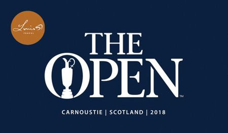 Hosting golf course for the event: The 2018 Open at Carnoustie + Guaranteed Old Course - 5 Night VIP Tour