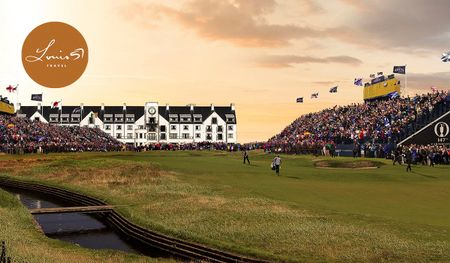 Hosting golf course for the event: The 2018 Open at Carnoustie + Guaranteed Old Course - 10 Night VIP Tour