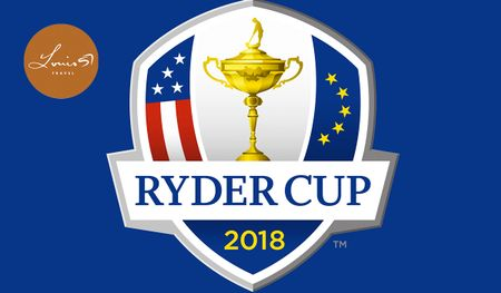 Cover of golf event named Exclusive Experience to the 2018 Ryder Cup