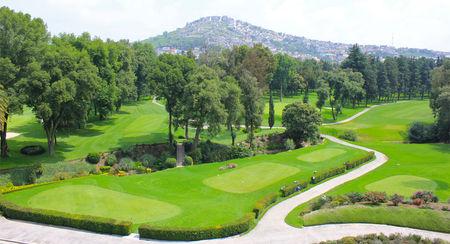 Overview of golf course named Club de Golf Bellavista