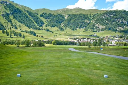 Cover of golf event named St. Moritz Gold Cup