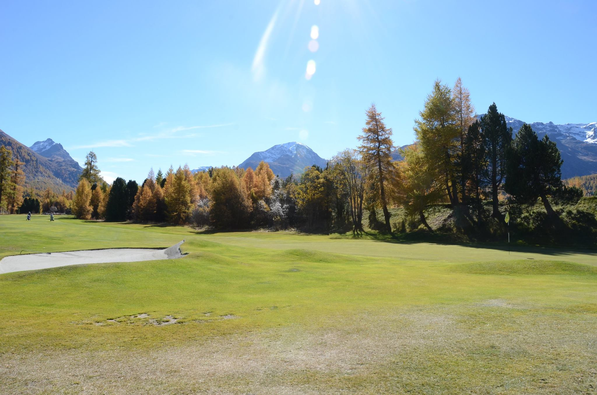 Cover of golf event named GolfersChoice(R) Engadin Pro AM