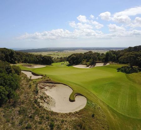 The national golf club moonah course robert trent jones jr checkin picture
