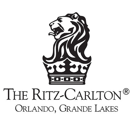 Logo of golf course named Grande Lakes Orlando at The Ritz-Carlton