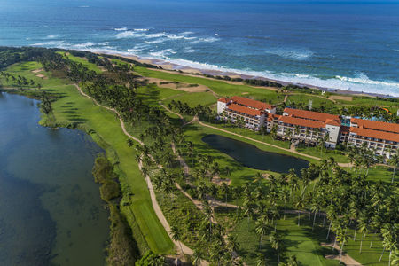 Overview of golf course named Shangri-La's Hambantota Golf Resort & Spa