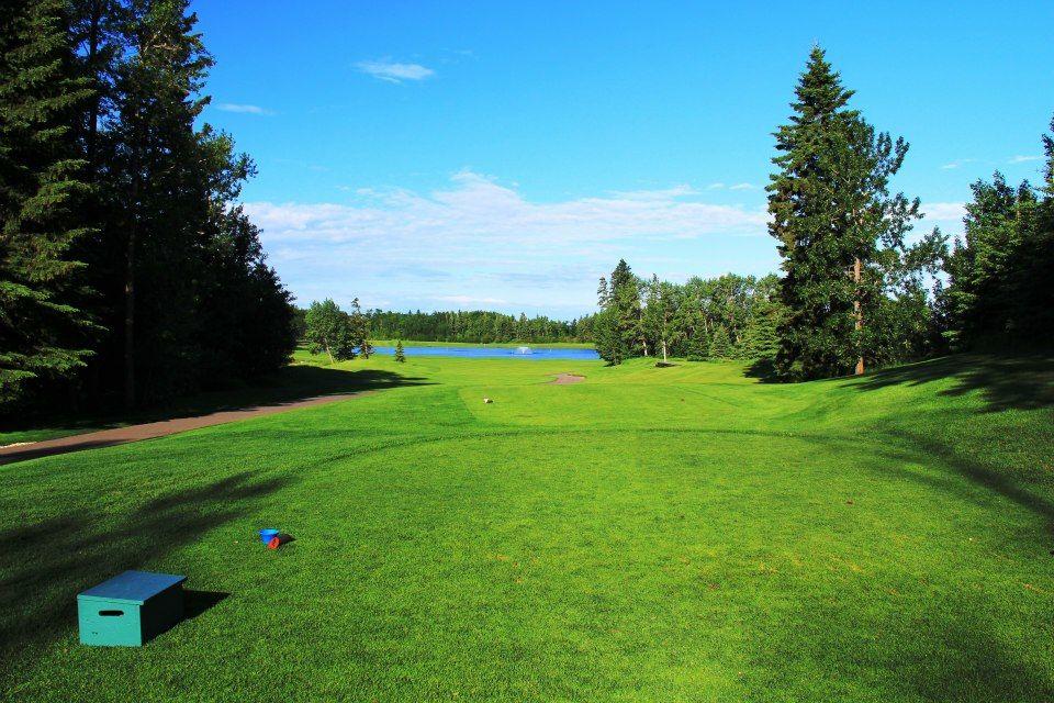 Alberta springs golf resort cover picture