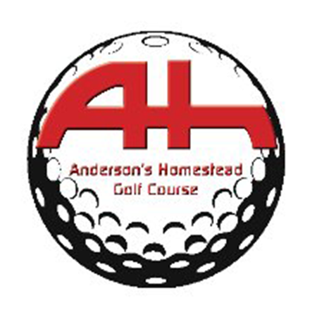 Logo of golf course named Anderson's Homestead Golf Course
