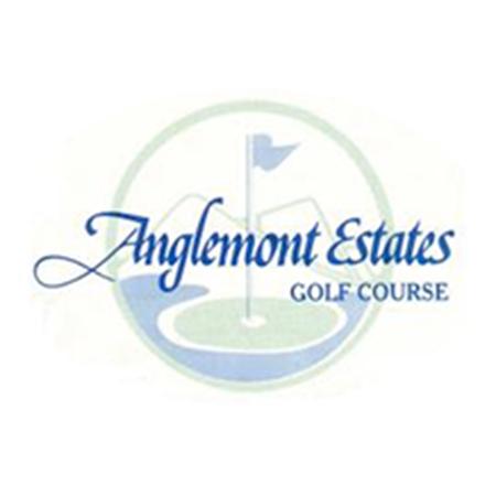Logo of golf course named Anglemont Estates Golf Club