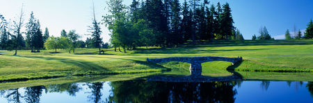 Overview of golf course named Arbutus Ridge Golf Club