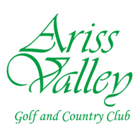 Logo of golf course named Ariss Valley Golf and Country Club