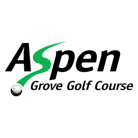Logo of golf course named Aspen Grove Golf Course