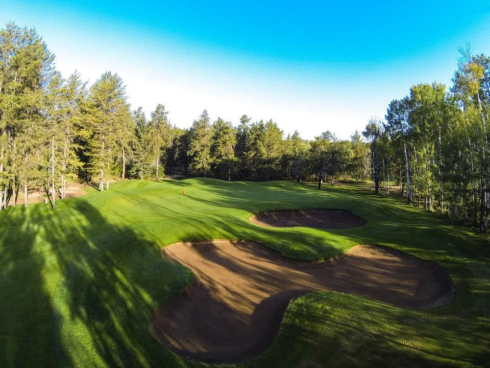 Athabasca golf and country club cover picture